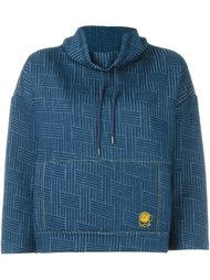 woven effect sweatshirt  Kenzo