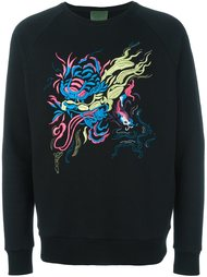 embroidered sweatshirt Amen