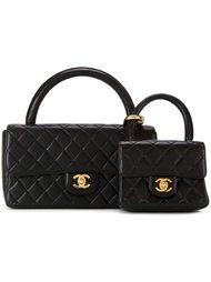 две стеганые сумки-тоут Chanel Vintage
