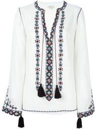 блузка с вышивкой Talitha