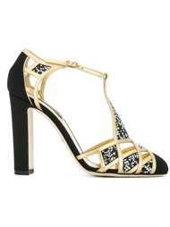 embellished t-bar sandals Dolce & Gabbana