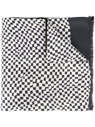 abstract squares scarf Haider Ackermann