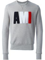logo print sweatshirt Ami Alexandre Mattiussi