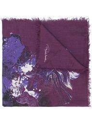 floral print scarf Roberto Cavalli