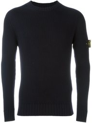 rib knit sweater Stone Island