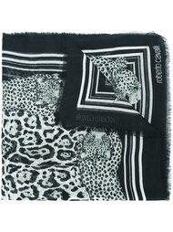 leopard print scarf Roberto Cavalli