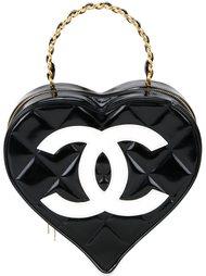 сумка-тоут в форме сердца Chanel Vintage