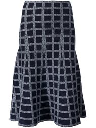 grid pattern skirt Derek Lam 10 Crosby