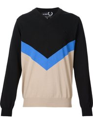 v-neck sweater Raf Simons