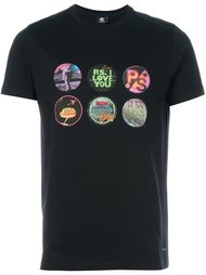 multi print T-shirt PS Paul Smith