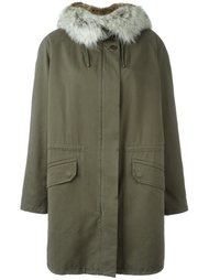 fur-trimmed parka Army Yves Salomon