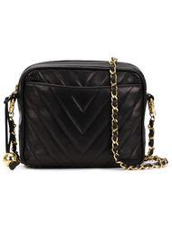 сумка через плечо с декоративным швом Chanel Vintage
