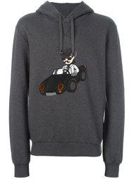 modern cowboy patch hoodie Dolce & Gabbana