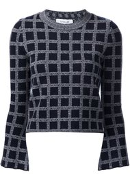 grid pattern jumper Derek Lam 10 Crosby