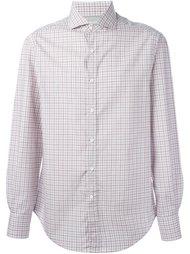 checked shirt Brunello Cucinelli