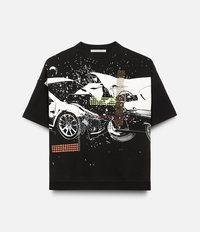 Car Crash T-shirt Christopher Kane