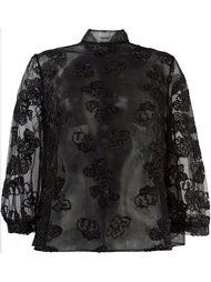 semi-sheer blouse Simone Rocha