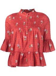 блузка с цветочным принтом  Ulla Johnson