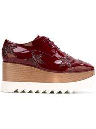туфли со шнуровкой на платформе Stella McCartney