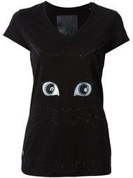 футболка 'Kitten Eyes'  Philipp Plein
