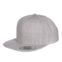Бейсболка Yupoong Classic Snapback Heather