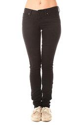 Джинсы узкие женские Volcom Soundcheck Super Skinny Black
