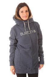 Толстовка сноубордическая женская Burton Sleeper Fz Heather Night Rider
