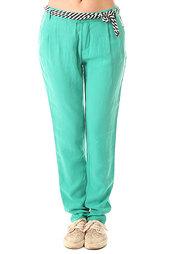 Штаны прямые женские Volcom Neon Slice Chino Bright Turq