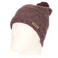 Шапка женская Oakley Madison Pom Pom Beanie Purple Night