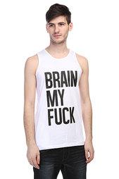 Майка TrueSpin Brain My Fuck White