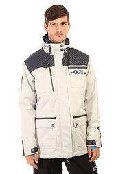 Куртка утепленная Picture Organic Rock White/Dark Blue