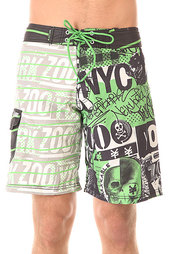 Шорты пляжные Zoo York Post Boardshorts Verde