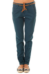 Штаны прямые женские Picture Organic Wine Chino Pant Dark Blue