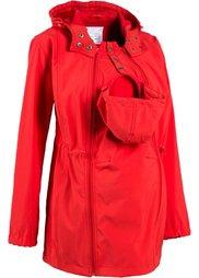 Куртка-софтшелл (красная ягода) Bonprix