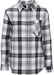 Клетчатая рубашка (ярко-зеленый/темно-синий) Bonprix