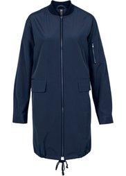 Длинная куртка-бомбер (камышовый матовый) Bonprix
