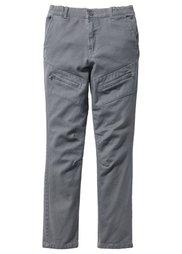 Брюки Slimfit с карманами на молнии, Размеры  116-170 (бронзовый) Bonprix