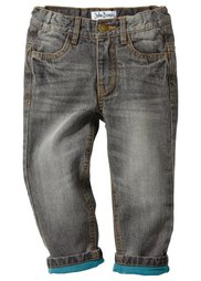 Термоджинсы для мальчиков, Размеры  92-146 (синий «потертый») Bonprix