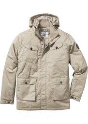 Удлиненная куртка Regular Fit на ватной подкладке (синий) Bonprix