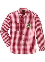 Рубашка в традиционном стиле Regular Fit (ледниково-синий/белый в клетку) Bonprix