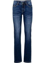 Джинсы-стретч STRAIGHT, высокий рост (L) (голубой) Bonprix