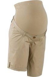 Мода для беременных: шорты (бордово-коричневый) Bonprix