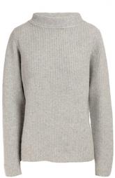 Кашемировый пуловер фактурной вязки с высоким воротником Windsor