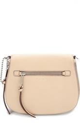Кожаная сумка-седло Recruit Marc Jacobs