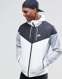 Белая ветровка Nike 727324-101 - Белый
