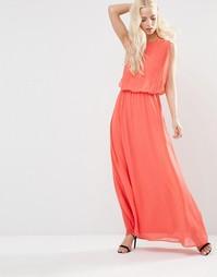Платье макси Y.A.S Hibiscus - Гибискус