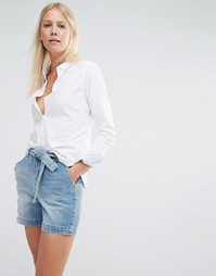 Приталенная рубашка Vero Moda - Снежно-белый