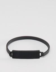 Черный браслет Icon Brand Premium Division ID - Черный