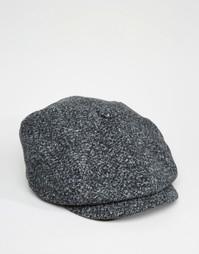 Темно-серая кепка в крапинку ASOS - Угольный