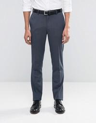 Синие брюки слим ASOS - Умеренный синий
